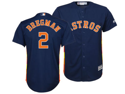 Houston Astros Alex Bregman Majestic MLB Youth Player Replica Cool Base Jersey