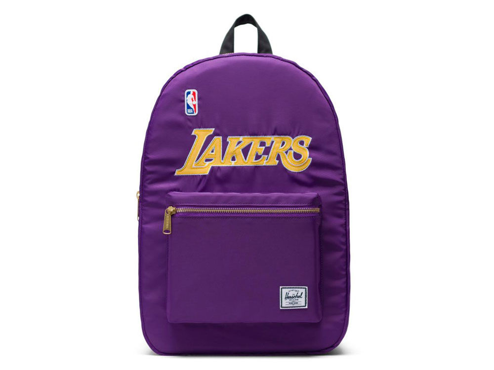 Los Angeles Lakers Herschel Satin Backpack  9cbaad6a9b5d5