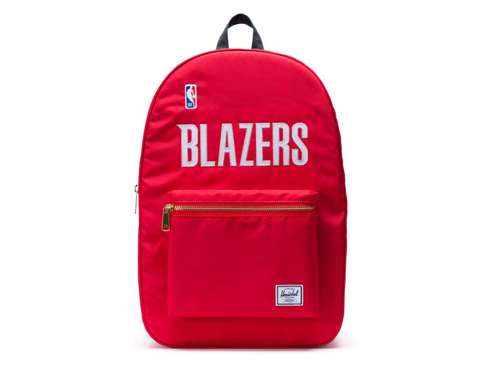 Portland Trail Blazers Herschel Satin Backpack  bebdb9e1d215f