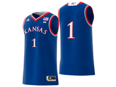 Kansas Jayhawks adidas 2018 NCAA Men s Replica Basketball Jersey 19bbade2d