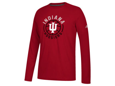 Indiana Hoosiers adidas NCAA Men's Center Court Long Sleeve T-Shirt