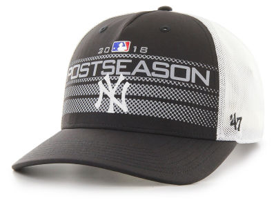 New York Yankees '47 2018 MLB Postseason Locker Room Cap