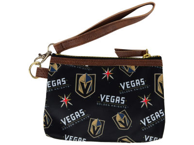 Vegas Golden Knights Printed Collection Wristlet