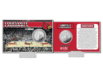 Louisville Cardinals Highland Mint Silver Coin Card
