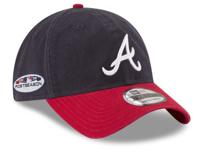 Atlanta Braves New Era 2018 MLB Postseason Patch 9TWENTY Cap