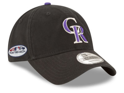 Colorado Rockies New Era 2018 MLB Postseason Patch 9TWENTY Cap