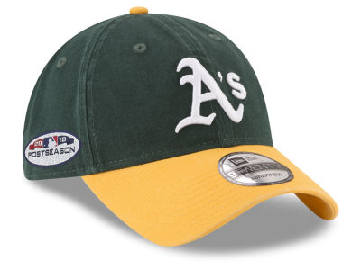 Oakland Athletics New Era 2018 MLB Postseason Patch 9TWENTY Cap