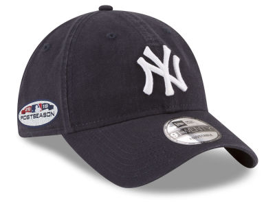 New York Yankees New Era 2018 MLB Postseason Patch 9TWENTY Cap