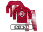 Ohio State Buckeyes NCAA Infant Girls Stripe Set Outfits