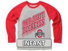 Ohio State Buckeyes NCAA Infant Heather Raglan T-shirt Infant Apparel