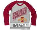 Iowa State Cyclones NCAA Infant Heather Raglan T-shirt Infant Apparel