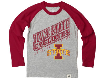 Iowa State Cyclones NCAA Infant Heather Raglan T-shirt