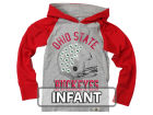 Ohio State Buckeyes NCAA Infant Hooded Raglan Long Sleeve T-Shirt Infant Apparel