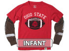 Ohio State Buckeyes NCAA Infant Football Sleeve 2 In 1 T-Shirt Infant Apparel