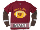 Iowa State Cyclones NCAA Infant Football Sleeve 2 In 1 T-Shirt Infant Apparel