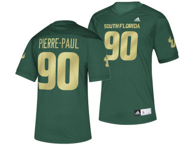 South Florida Bulls Jason Pierre-Paul adidas 2018 NCAA Men's Replica Football Jersey