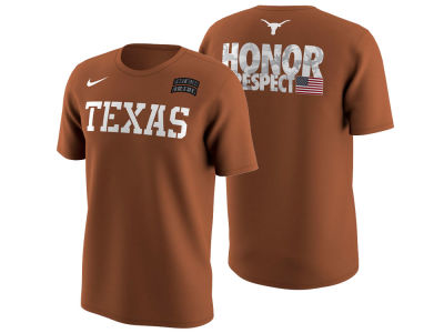 Texas Longhorns Nike NCAA Men's Honor and Respect T-Shirt