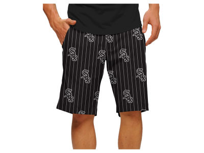 Chicago White Sox Loudmouth Golf MLB Men's Pinstripe Shorts
