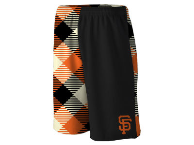 San Francisco Giants Loudmouth Golf MLB Men's Microwave Gym Shorts