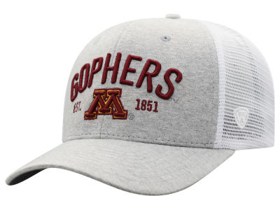 best loved 5af8f 08987 Minnesota Golden Gophers Top of the World NCAA Notch Heather Trucker Cap