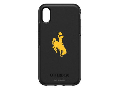 Wyoming Cowboys OtterBox iPhone XR Symmetry Case