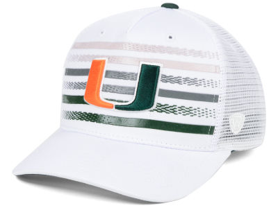 Miami Hurricanes Top of the World NCAA Tranquil Trucker Cap bbdb76a6f663
