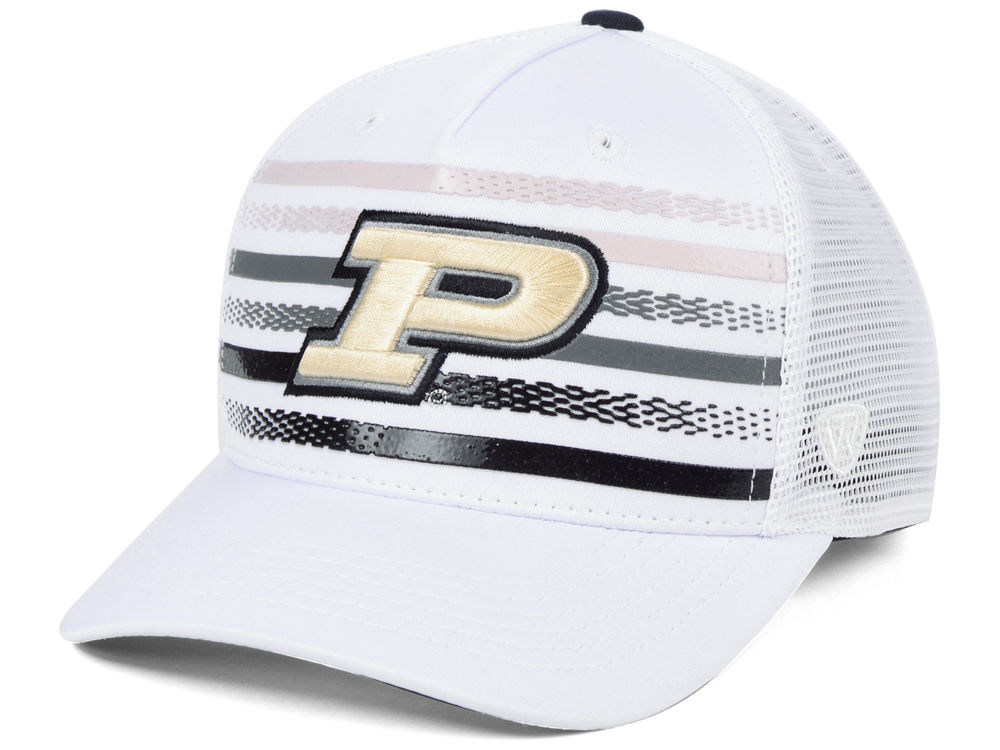 Purdue Boilermakers Top of the World NCAA Tranquil Trucker Cap ... 8542e683fa1