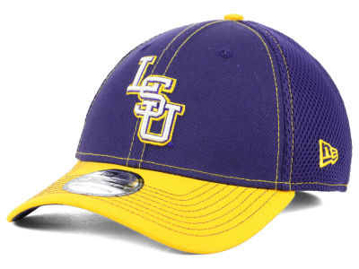 LSU Tigers New Era NCAA 2 Tone Neo 39THIRTY Cap