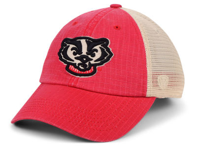 low priced 218f7 62f34 Wisconsin Badgers Top of the World NCAA Raggs Alternate Mesh Cap