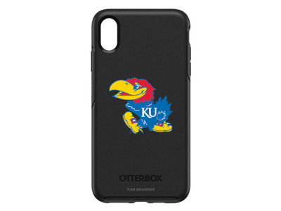 Kansas Jayhawks OtterBox iPhone XS Max Symmetry Case