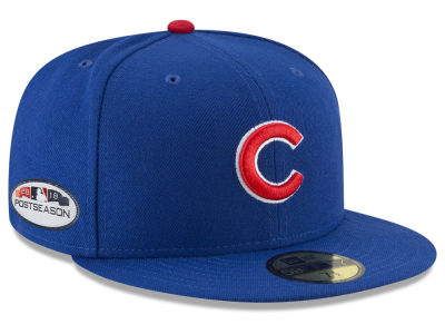 Chicago Cubs New Era 2018 MLB Postseason Patch 59FIFTY Cap