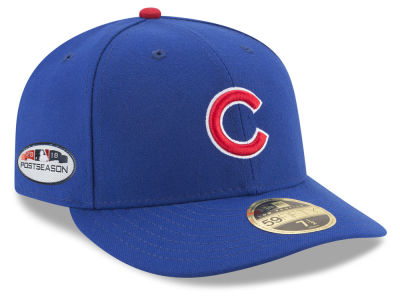 Chicago Cubs New Era 2018 MLB Postseason Patch Low Profile 59FIFTY Cap 78e5f600759