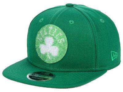 size 40 a16c2 5fbb9 Boston Celtics New Era NBA Swarovski Crystal 9FIFTY Snapback Cap