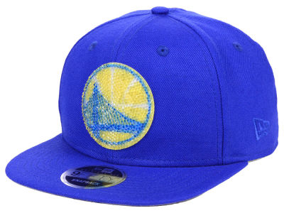 fce45cdc3 Golden State Warriors New Era NBA Swarovski Crystal 9FIFTY Snapback Cap