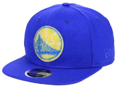 Golden State Warriors New Era NBA Swarovski Crystal 9FIFTY Snapback Cap 2ca0fd721