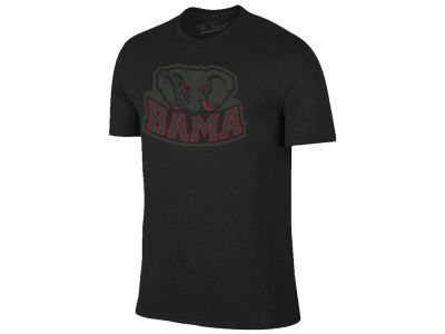Alabama Crimson Tide The Victory NCAA Men's Black Out Dual Blend T-Shirt