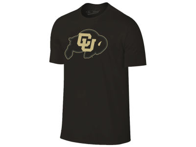 Colorado Buffaloes The Victory NCAA Men's Black Out Dual Blend T-Shirt