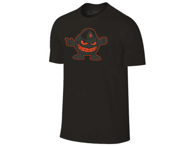 Syracuse Orange The Victory NCAA Men's Black Out Dual Blend T-Shirt