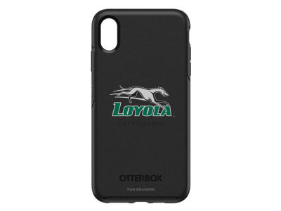 Loyola Greyhounds OtterBox iPhone XS Max Symmetry Case