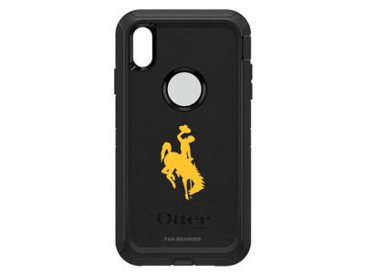Wyoming Cowboys OtterBox iPhone XS Max Defender Case