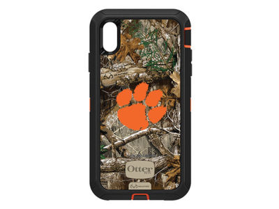 Clemson Tigers OtterBox iPhone XS Max Defender Case