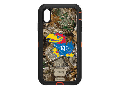 Kansas Jayhawks OtterBox iPhone XS Max Defender Case
