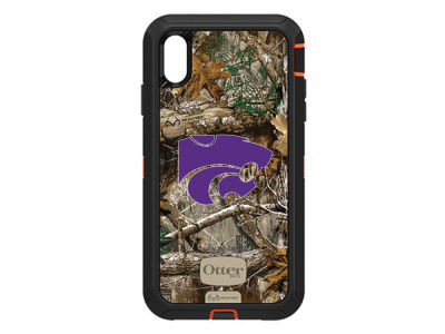 Kansas State Wildcats OtterBox iPhone XS Max Defender Case