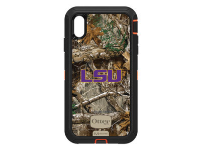 LSU Tigers OtterBox iPhone XS Max Defender Case