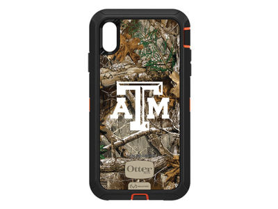 Texas A&M Aggies OtterBox iPhone XS Max Defender Case