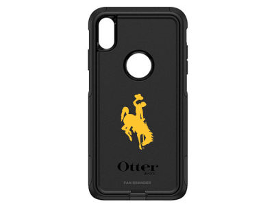 Wyoming Cowboys OtterBox iPhone XS Max Commuter Case
