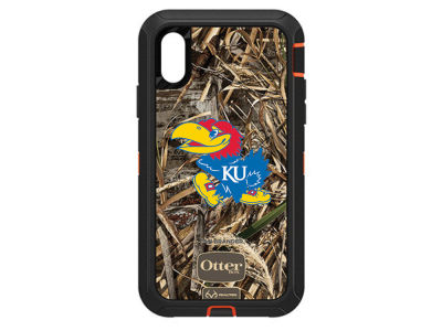 Kansas Jayhawks OtterBox iPhone XR Defender Case