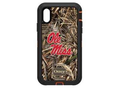 Ole Miss Rebels OtterBox iPhone XR Defender Case