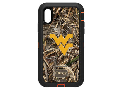 West Virginia Mountaineers OtterBox iPhone XR Defender Case