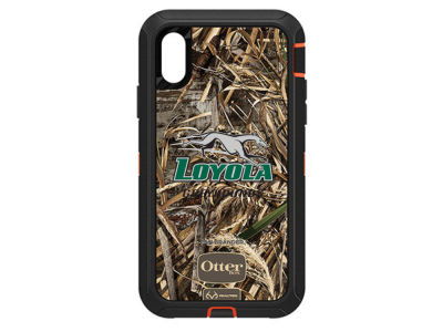 Loyola Greyhounds OtterBox iPhone XR Defender Case